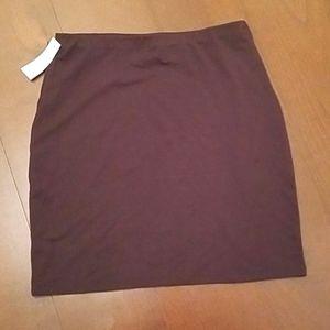 Aritzia Wilfred Black Stretchy Skirt